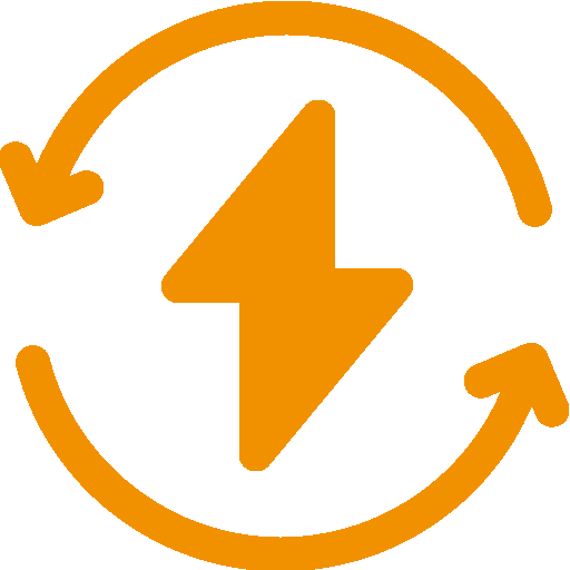 Icon des Ressourcenschonend Vorteils